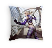 Tekken Nina Williams Throw Pillow
