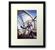Tekken Nina Williams Framed Print