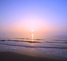 candle sunrise by geoffford