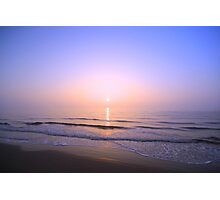 candle sunrise Photographic Print