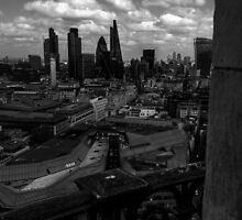 London From St Paul's Cathedral by Ian Mooney