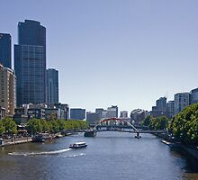 Yarra River, Melbourne by rjpmcmahon