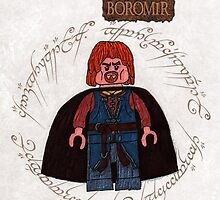 Boromir-lego lord of the rings by ChrisNeal