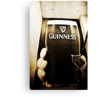 A Pint In My Hand - Happy New Year Canvas Print
