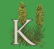 K is for King's Spear - full image shirt Baby Tee