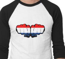 Nederland Men's Baseball ¾ T-Shirt