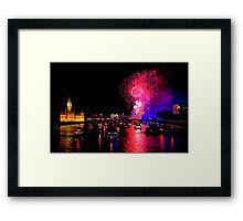 Goodbye 2012 From London 2 - HDR Framed Print