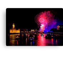 Goodbye 2012 From London 2 - HDR Canvas Print