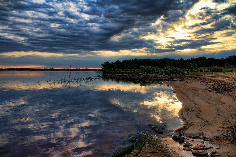 Nice Reflections by Carolyn  Fletcher