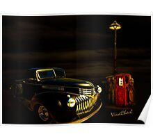 42 Chevy Pickup Rat Rod Raiding Remote Refueling – Really Poster