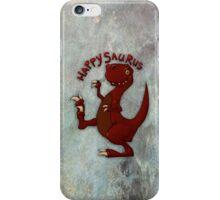 A very happy dinosaur iPhone Case/Skin