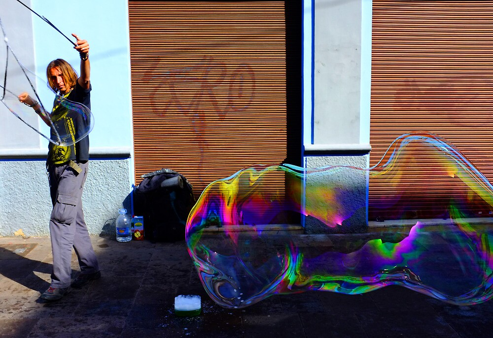 Master of Bubbles #1 by ragman