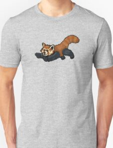 Red Panda leaping Unisex T-Shirt