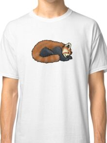 Red Panda sleeping Classic T-Shirt