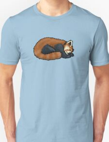 Red Panda sleeping Unisex T-Shirt