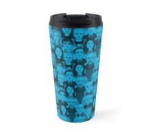Breaking Bad Characters - Blue Travel Mug