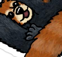 Red Panda rolling Sticker