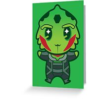 Drell assassin Greeting Card