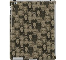 Breaking Bad Characters - Brown iPad Case/Skin