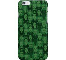 Breaking Bad Characters - Dark Green iPhone Case/Skin