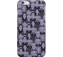 Breaking Bad Characters - Purple iPhone Case/Skin