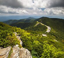 Blue Ridge Parkway Craggy Gardens Asheville NC - Craggy Pinnacle by Dave Allen