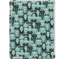 Breaking Bad Characters - Turquoise iPad Case/Skin