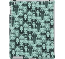 Breaking Bad Characters - Turquoise iPad Case/Skin