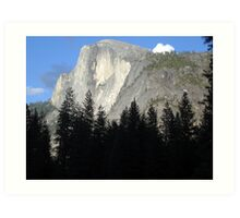 Half Dome Glowing in Yosemite Art Print