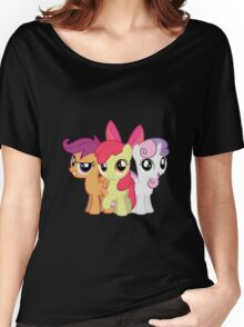 My Little Pony: Cutie Mark Crusaders Women's Relaxed Fit T-Shirt