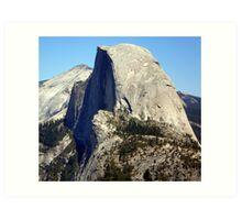 Glacier Point View of Half Dome Art Print