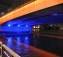 London bridge unframed  by Debra Kurs