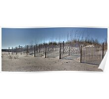 Pawleys Island, SC - Sand Dunes Poster