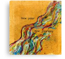 New Year / New Journey Canvas Print
