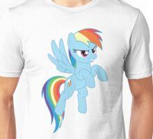Rainbow Dash flying Unisex T-Shirt