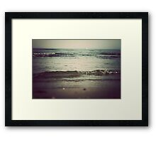 In the Waves Framed Print