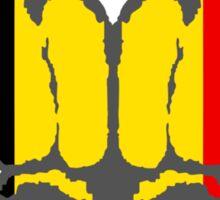 Vive la Belgique! Sticker
