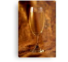 Still Life - Champagne & Gold Metal Print
