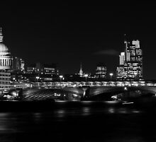 St Pauls Cathedral Skyline London by karlwilsonphoto