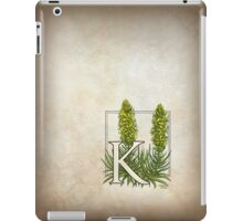 K is for King's Spear iPad Case/Skin