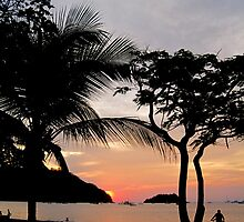 Costa Rican Sunset by LaurelMuldowney