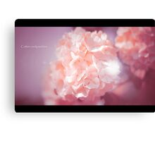Flower Photography in Pink Canvas Print