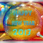 Happy New Year by Linda Miller Gesualdo
