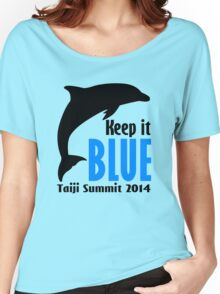 Keep It Blue Women's Relaxed Fit T-Shirt