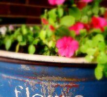 Fleurs Roses by LaurelMuldowney