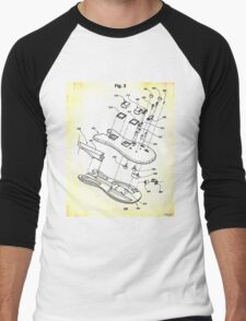 A Guitar is Born Men's Baseball ¾ T-Shirt