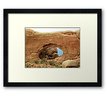 Arches at Arches National Park Framed Print