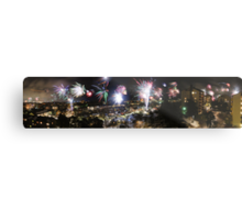 A Swede's view of 2012 New Year's Eve Metal Print