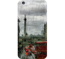 Rainy Days in London Photography iPhone Case/Skin