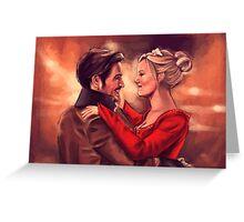 Fairytale dance Greeting Card